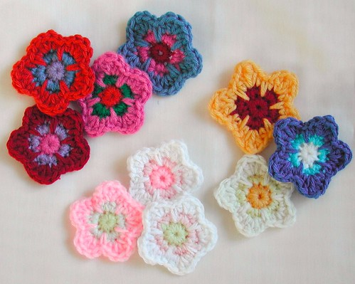 Five Petal Flowers