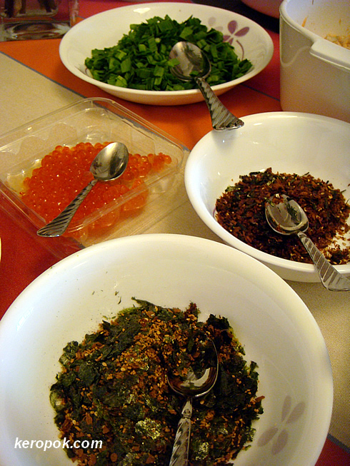Assortment of furikake