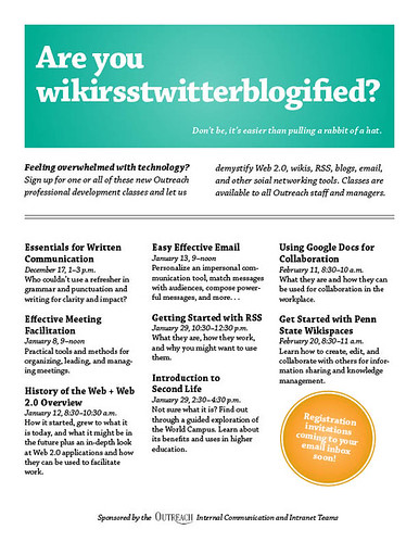 Are you wikirsstwitterblogified?