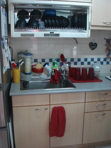 Kitchen Sink and Dish dryer