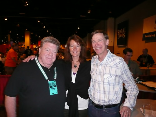 George Wendt, Nancy Johnson & Denver Mayor John Hickenlooper