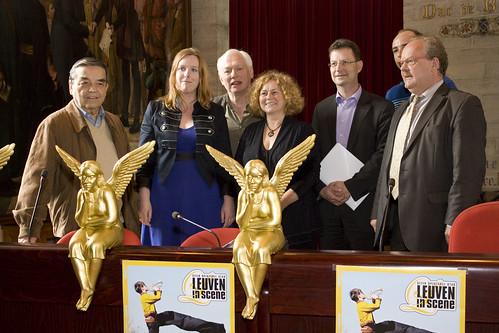 Persconferentie Leuven in Scène 2010