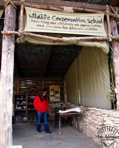 Karen at Conservation School watermark