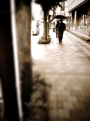 Rainy day (Satoshi H (a.k.a ARCH)) Tags: camerabag iphone 2011 iphone4 iphoneography tiltshiftgenerator