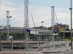 EVENTO GEN ROSSO - Il Palco è quasi pronto. (Luca +10) Tags: italy luca italia stage concerto palco varedo valera genrosso estremità luca10