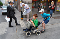 Stockholm, Sweden, 2011 (Lasse Persson) Tags: street boys sweden stockholm stroller candid lassepersson