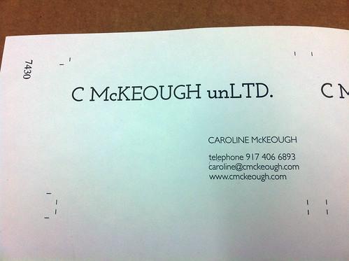 C McKeough unLTD Production Photos