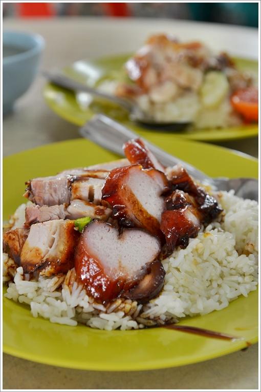 Char Siew & Siew Yoke Rice