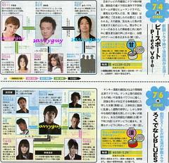 7.4 NTV ピースボート~Piece Vote 7.6 日本 ろくでなしBLUES