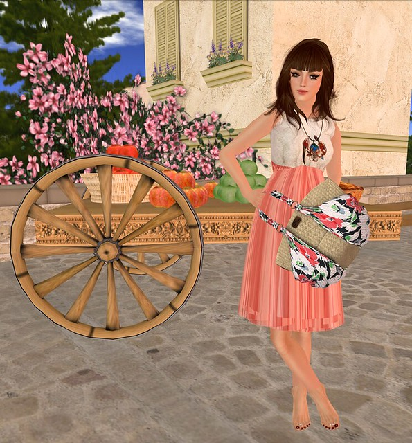 ::{u.f.o}::ralla sweety & [CheerNo Femme] KAMALA - Wicker Bag ::TFG::