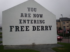 YOU ARE NOW ENTERING FREE DERRY 8