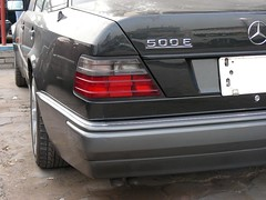 Mercedes E500 (q8500e) Tags: mercedes kuwait q8 w124 e500 q8i q8500e