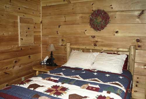 Big Bear Log Cabins of Franklin, NC - Bedroom