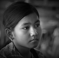 girl from sihanoukville (eb78) Tags: travel portrait blackandwhite bw monochrome asian blackwhite asia cambodge cambodia kambodscha southeastasia cambodian khmer noiretblanc pentax streetphotography grayscale istds indochine greyscale indochina pentaxistds travelphotography kampuchea travelphotos cambogia