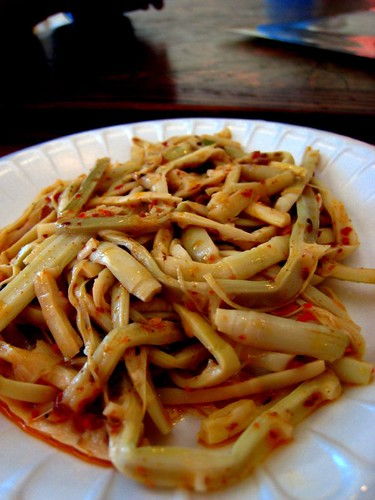 Spicy Bamboo Shoot (not really spicy), Xiong's