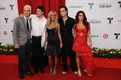 RBD on the Billboard Awards red carpet (mun2tv) Tags: alfonso christopher christian anahi redcarpet rbd rebelde billboardawards dulcemaria latinbillboards