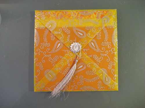 Yellow Indian Wedding Card Samples