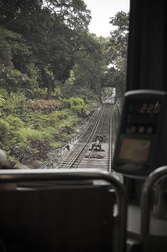 At Peak Tram