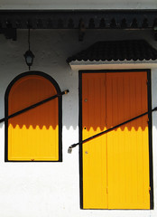 Orange (for a change!) door & window, Asilah, Morocco (frotos (Fred Shively)) Tags: travel orange photography doors vivid morocco twop asilah artphotography golddragon aplusphoto artlegacy fredshively spiritofphotography paololivornosfriends