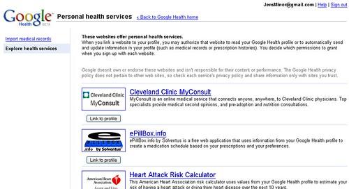Medical Contacts