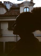 shaping perla (stralusso) Tags: film girl beautiful torino holga o toycamera beatles shape perla something controluce ragazza bellissima pellicola stralusso