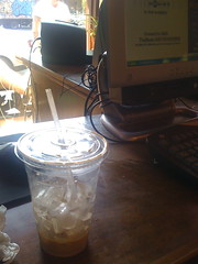 Iced Coffee Close-Up