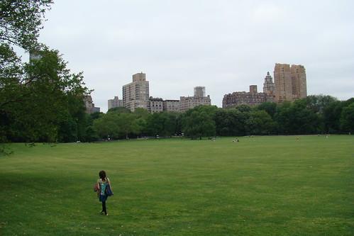 中央公園-ㄟ~有看到我的背影嗎