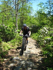 Jeff Jones rides the Frederick Watershed