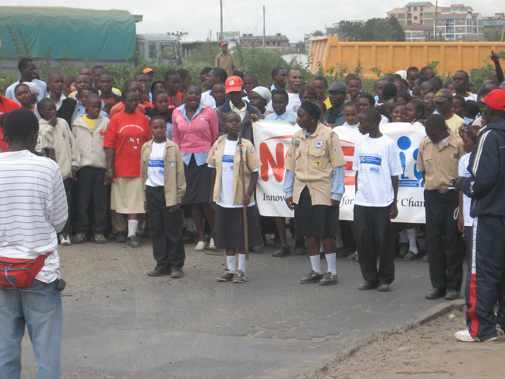 7. HIV / AIDS Awareness Event in Kayole, May 2008