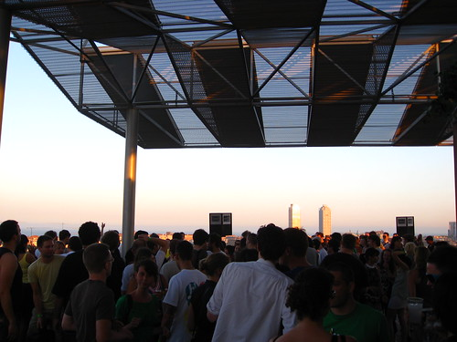Beatport rooftop party