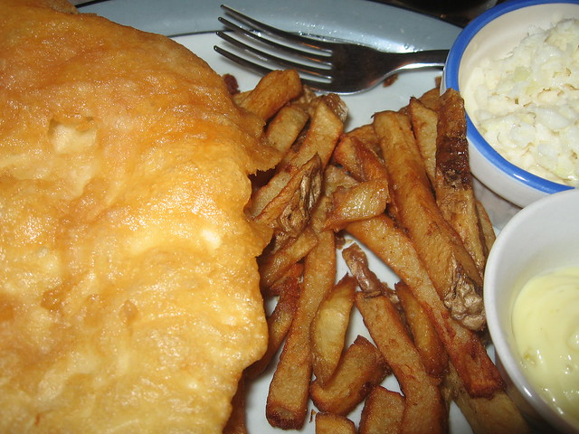 A Nice plate of Fish and Chips