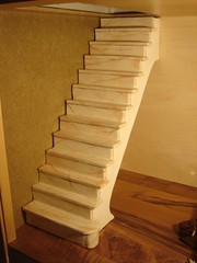 Marble Staircase in Progress (em`lia) Tags: stairs miniature photo doll staircase marble diorama dollhouse