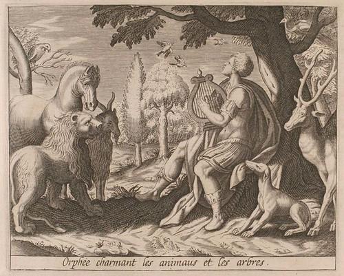 13-Orfeo encantando a los animales y los arboles