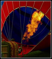 Firing it up - Howell Hot Air balloon Fest 2008 (zayeeem) Tags: carnival hot june balloons fire air balloon detroit helium fest 2008 18200 vr 28th inflation howell d80 zayeeem michiganchallengecom