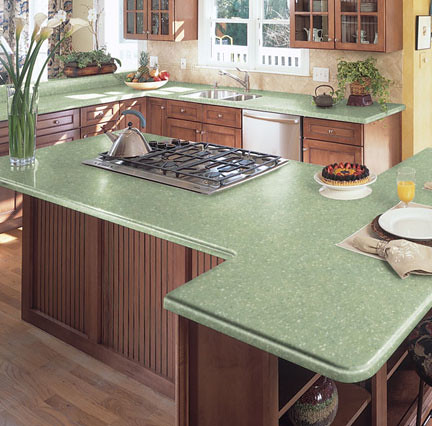 How Much Does Granite Countertops Cost At Lowes : LG HI-MACS Acrylic Solid Surface in Seafoam Quartz