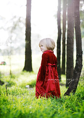 Little in Red ({amanda}) Tags: red cute girl 50mm child naturallight 3years nmk amandakeeysphotography outsitde