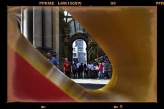 Galleria AMOR (Alan Philip Mueller) Tags: detail photoshop geotagged milano canon350d sculture dettagli colori forme città scultura galleriavittorioemanuele alanmuller alan2008 alanmüller alanphilipmüller