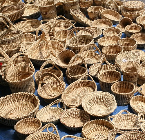 Petit panier noel: picture Sweet Grass Baskets by babyfella2007