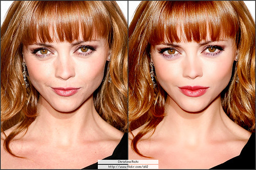 Retouching Christina Richi Photo