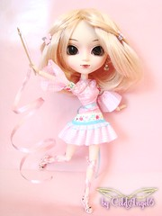 Pullip Lillian ( ColdAngel6 ) Tags: pink blue color cute green sport photography nice colorful doll dolls dress sweet handmade pastel picture pic homemade kawaii pullip blanche newdress farbe pullips catchy puppe farben niedlich beautyful ss junplanning madebymyself coldangel6