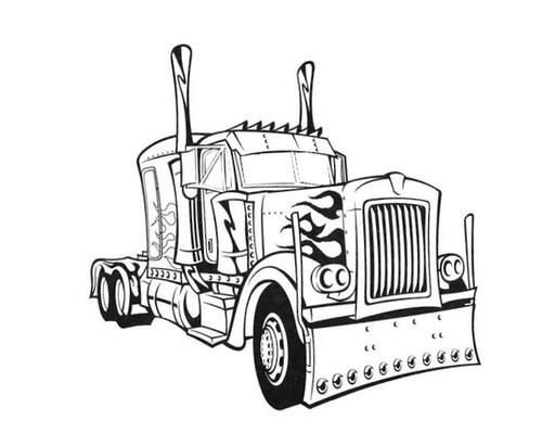 Dibujos Para Colorear De Transformers Agridulce
