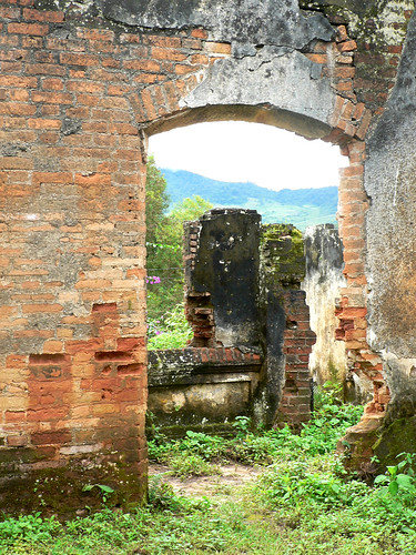 Ruined French Hospital, Muang Khoun, Laos