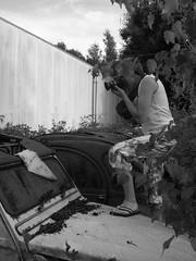 Photographing 2cv wrecks (Stinoo) Tags: citroën 2cv wreck eend geit 2pk wrak deuche