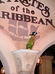 Pirates of the Caribbean (Gary Burke.) Tags: orlando ride florida pirates parrot disneyworld wdw waltdisneyworld magickingdom attraction garyburke disneyphotochallenge