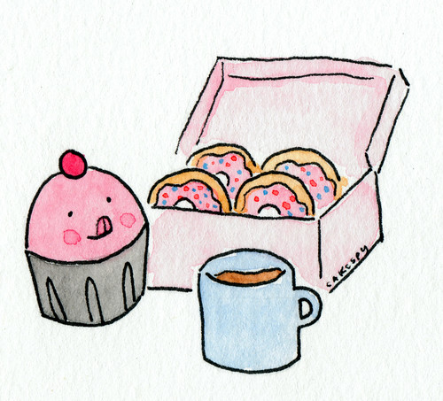 Cuppie loves Doughnuts!