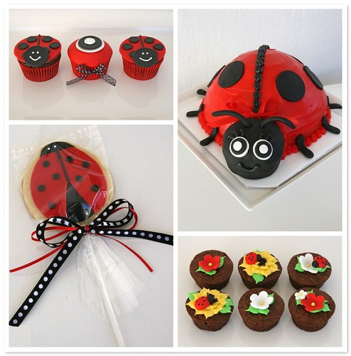 Ladybug Baby Shower Treats