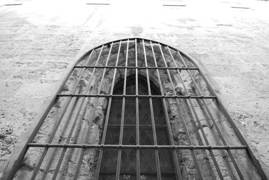 janela de grades