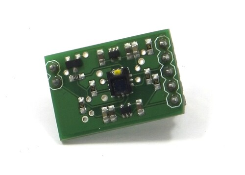 The ADJD breakou board by Sparkfun