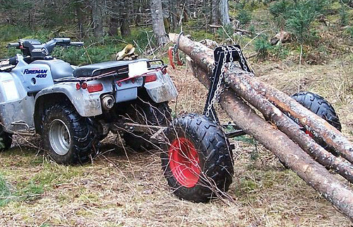 ATV Log Skidder Plans http://paolocaponi.girlshopes.com/buildanatvloghauler/