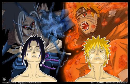 naruto vs sasuke pictures. Naruto VS Sasuke